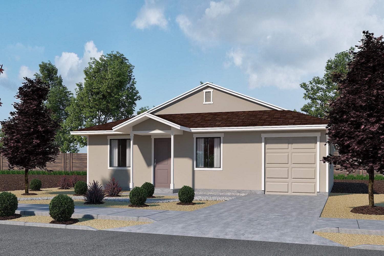 1C- Tandem Garage - Elevation :Plan 1