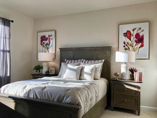 The Rose Hill:Master Bedroom