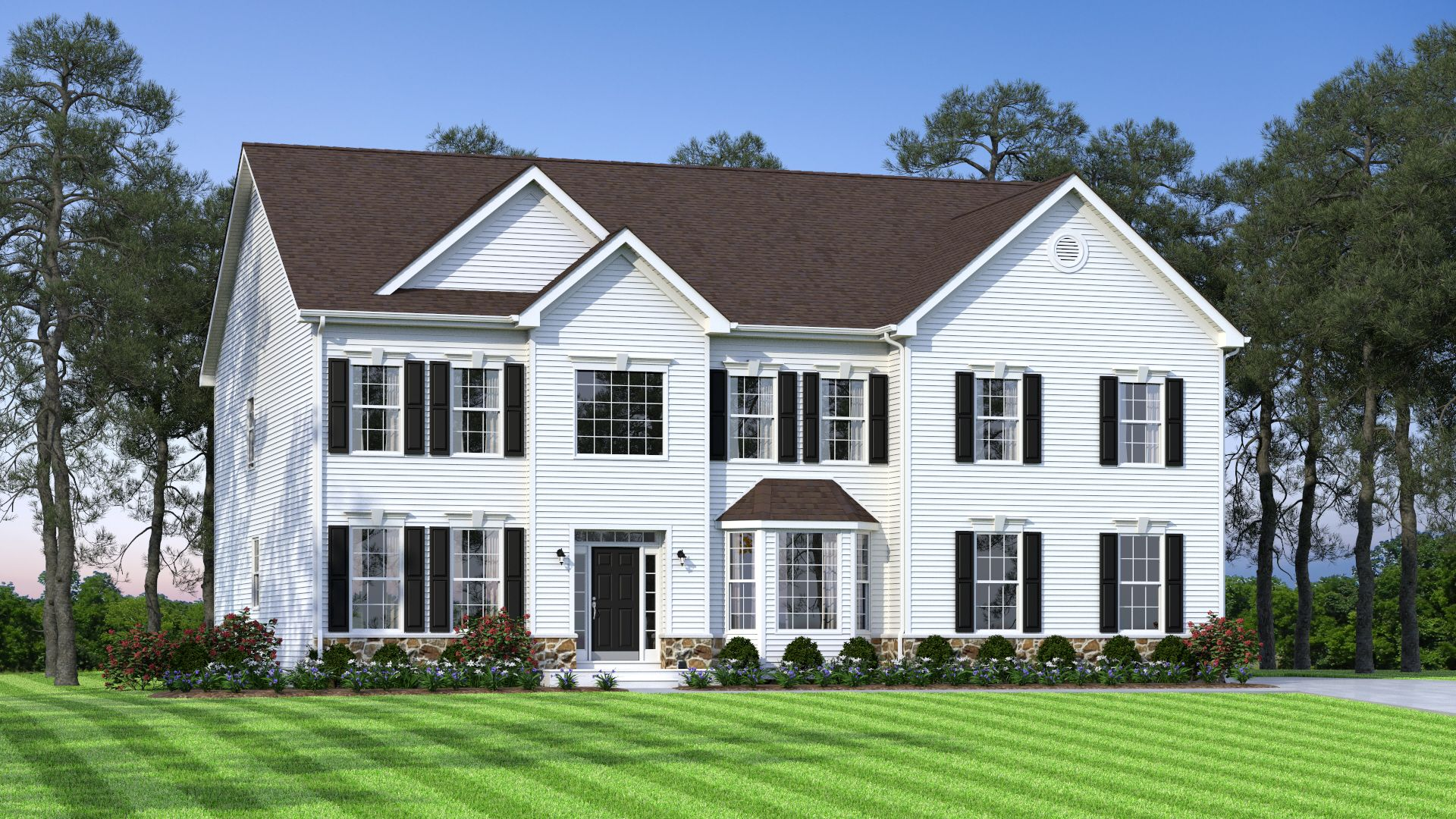 The Brandywine Elevation A:The Brandywine Elevation A