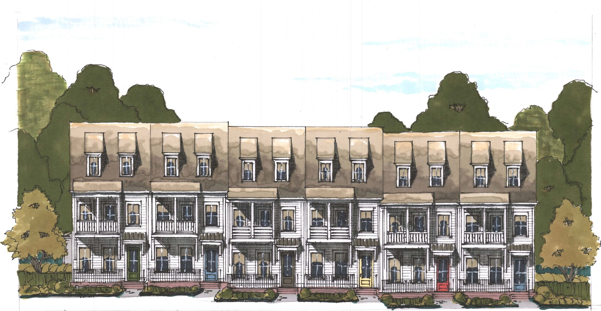 The Alston:Elevation drawing subject to changes, errors and omissions