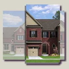 Exterior:Knighthill Townhome Exterior Rendering