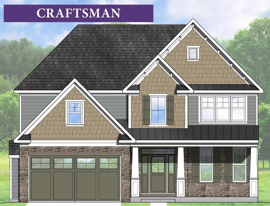 Exterior:Bryce RH Craftsman