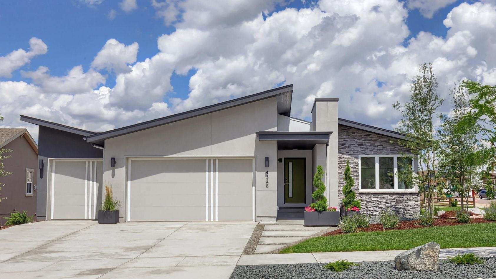 The Baker - Modern Ranch Home:(Photo representing home to be built and may demonstrate optional features)