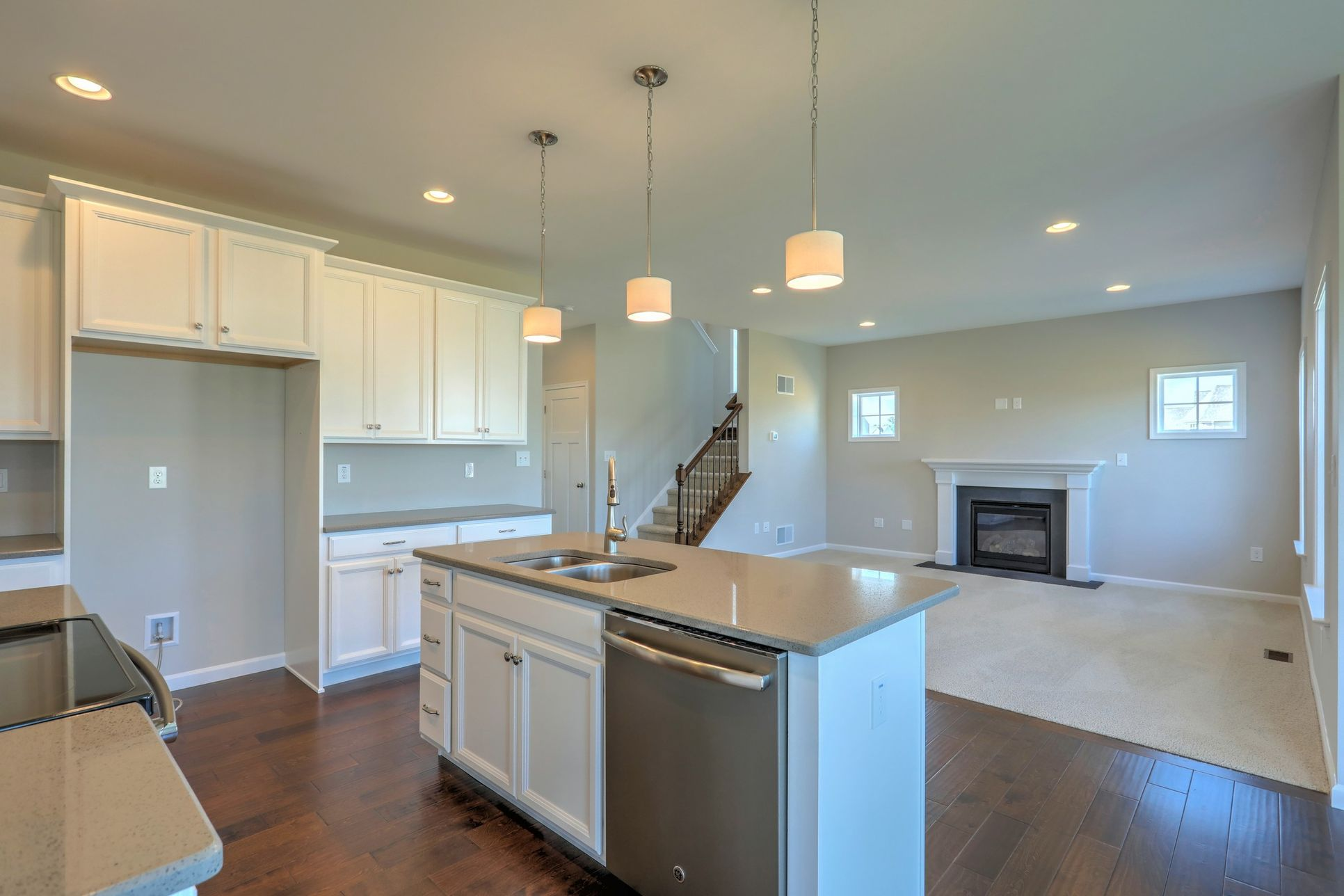 Classic Kitchen Family Room