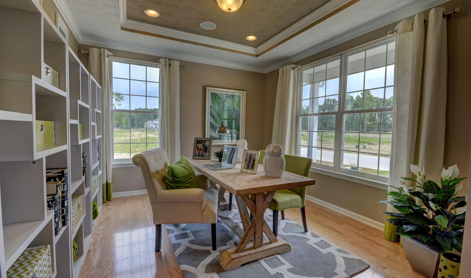 Interior:Inviting living room
