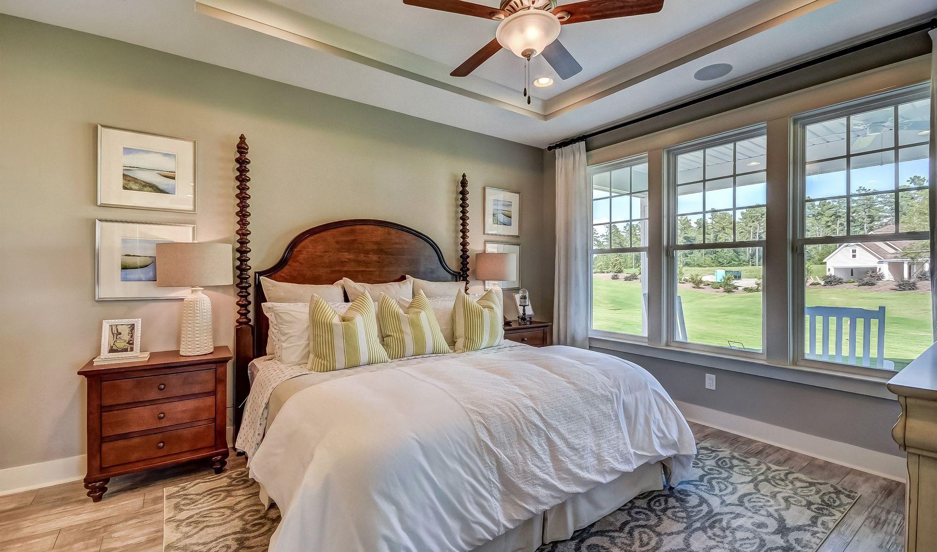 Interior:Glamorous owner's suite