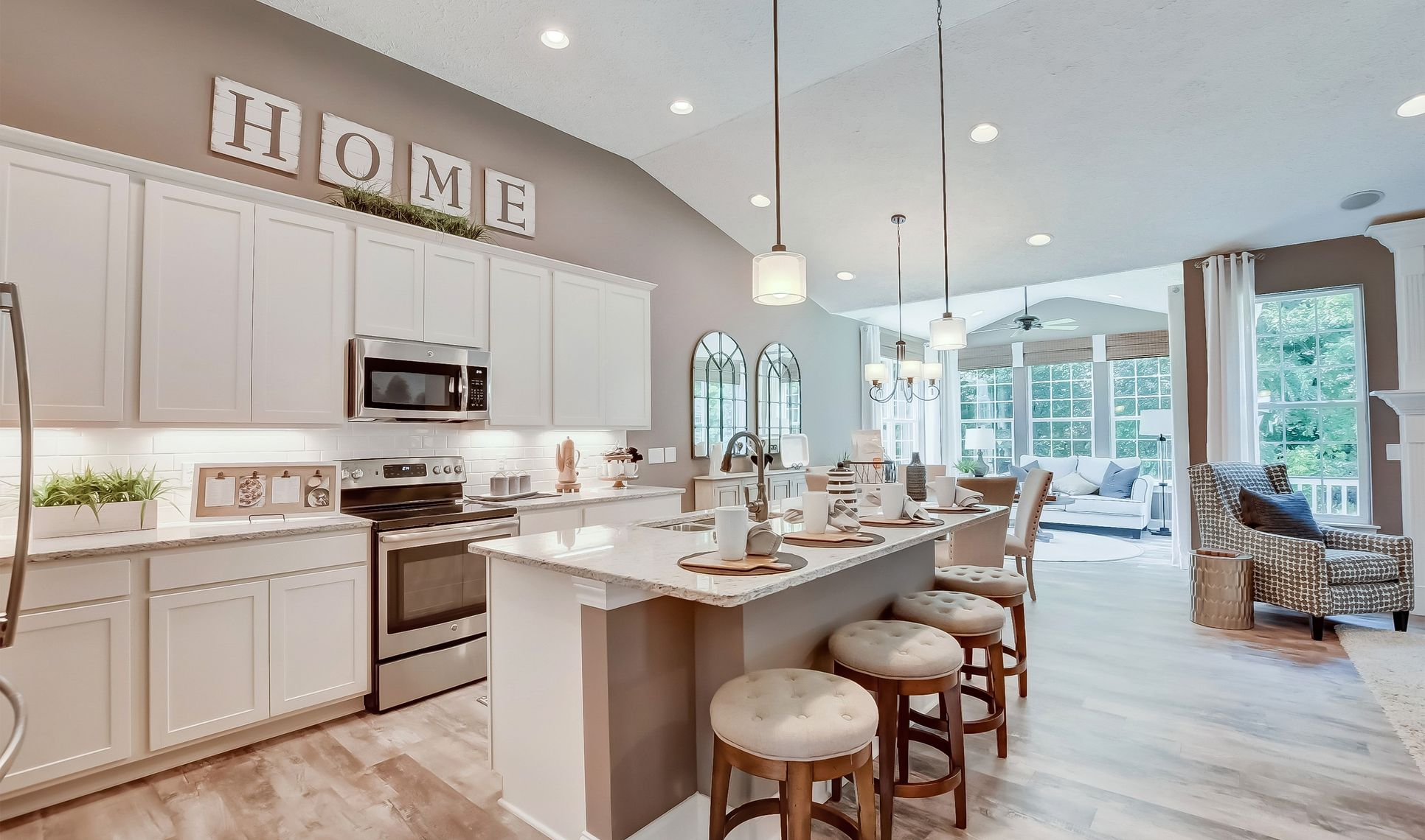 The Preserve at Meadow Lakes - Bedford Kitchen-1