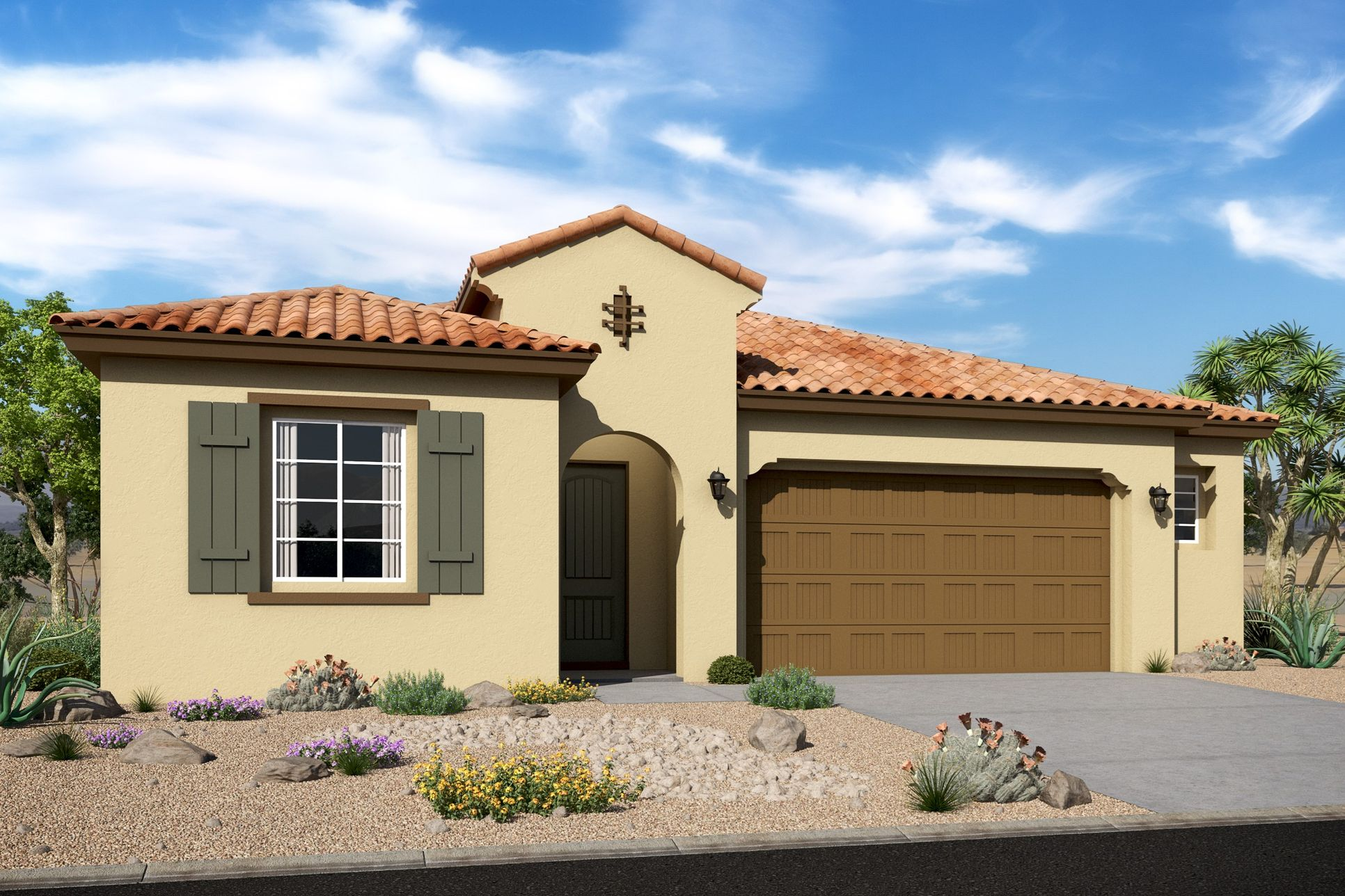 Exterior:Goldfinch Spanish Colonial D