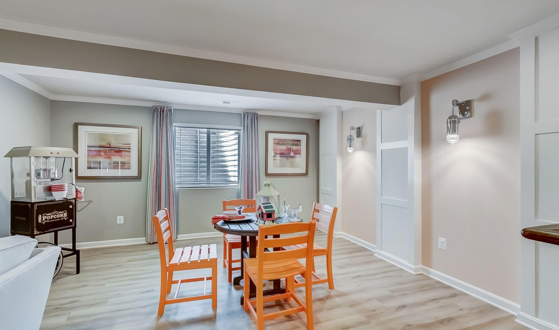 Interior:Rec room for entertaining