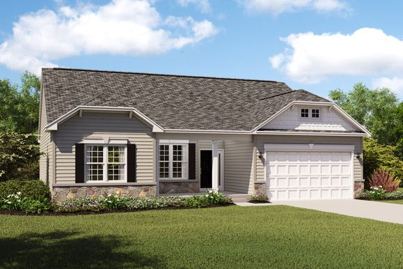 Exterior:Cape Charles II F with opt. stone