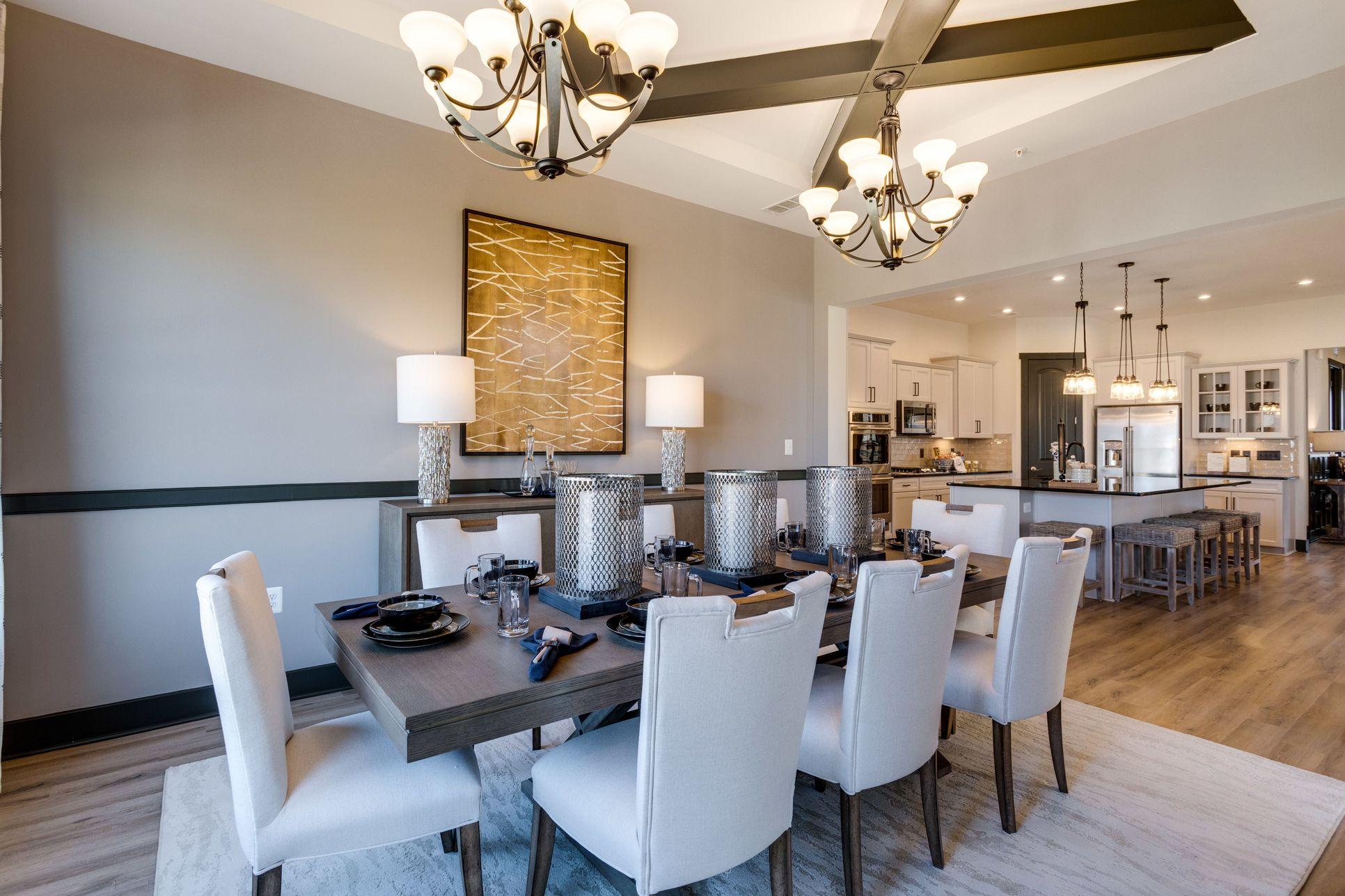 Interior:Dining room off kitchen