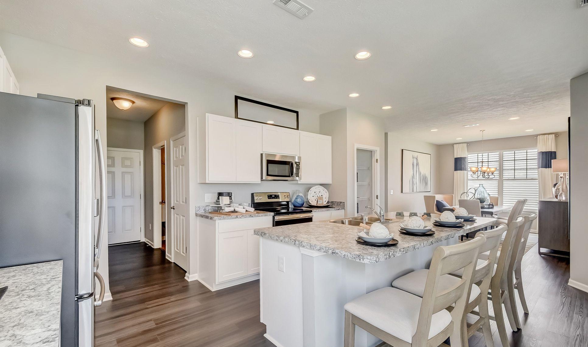 Interior:Striking kitchen