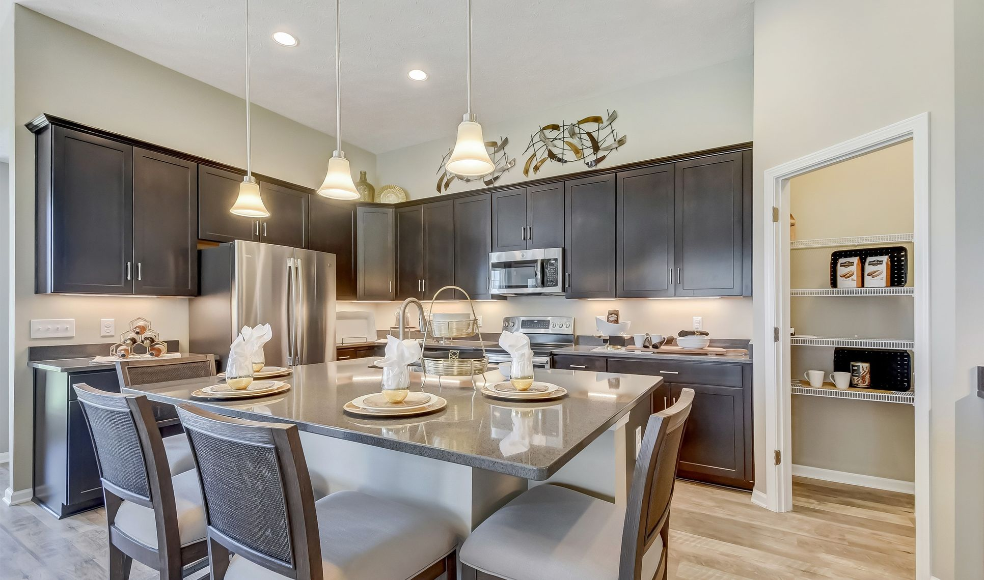Interior:Stylish kitchen
