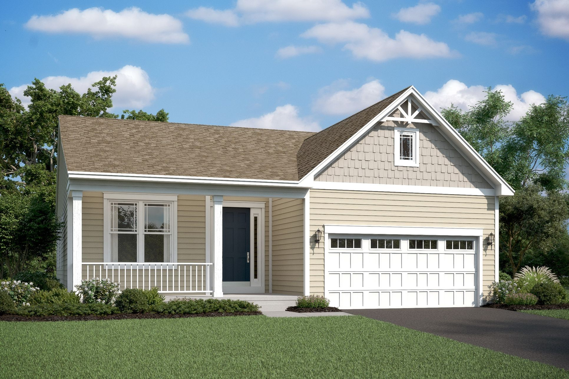 Exterior:Eastwood E2 with Standard Siding