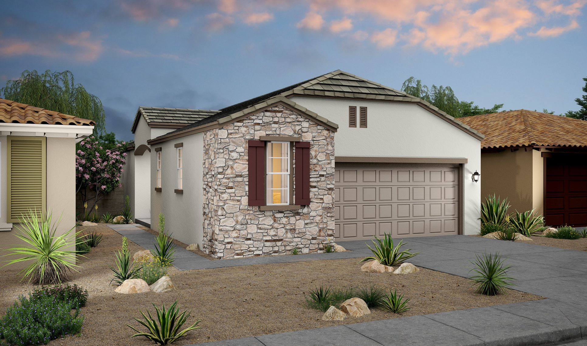 Exterior:Prickly Pear Cottage B