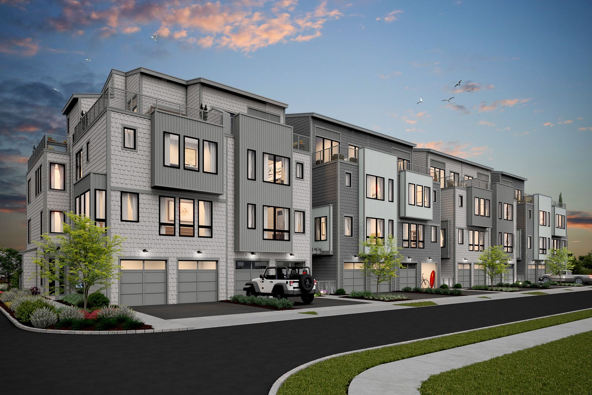 The Cove at Asbury-Building 1-Rear-elev_DSK