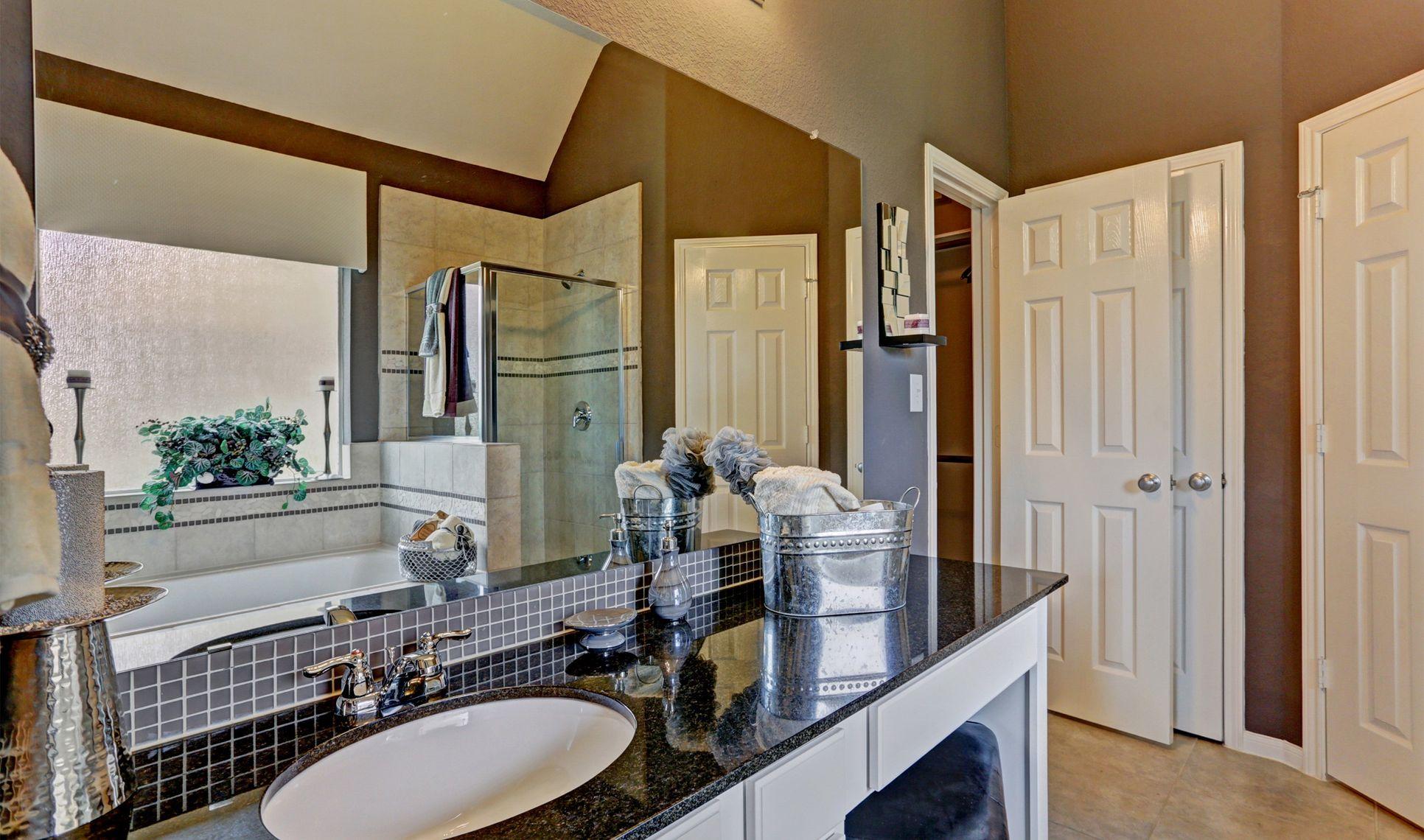Interior:Elegant owner's bath
