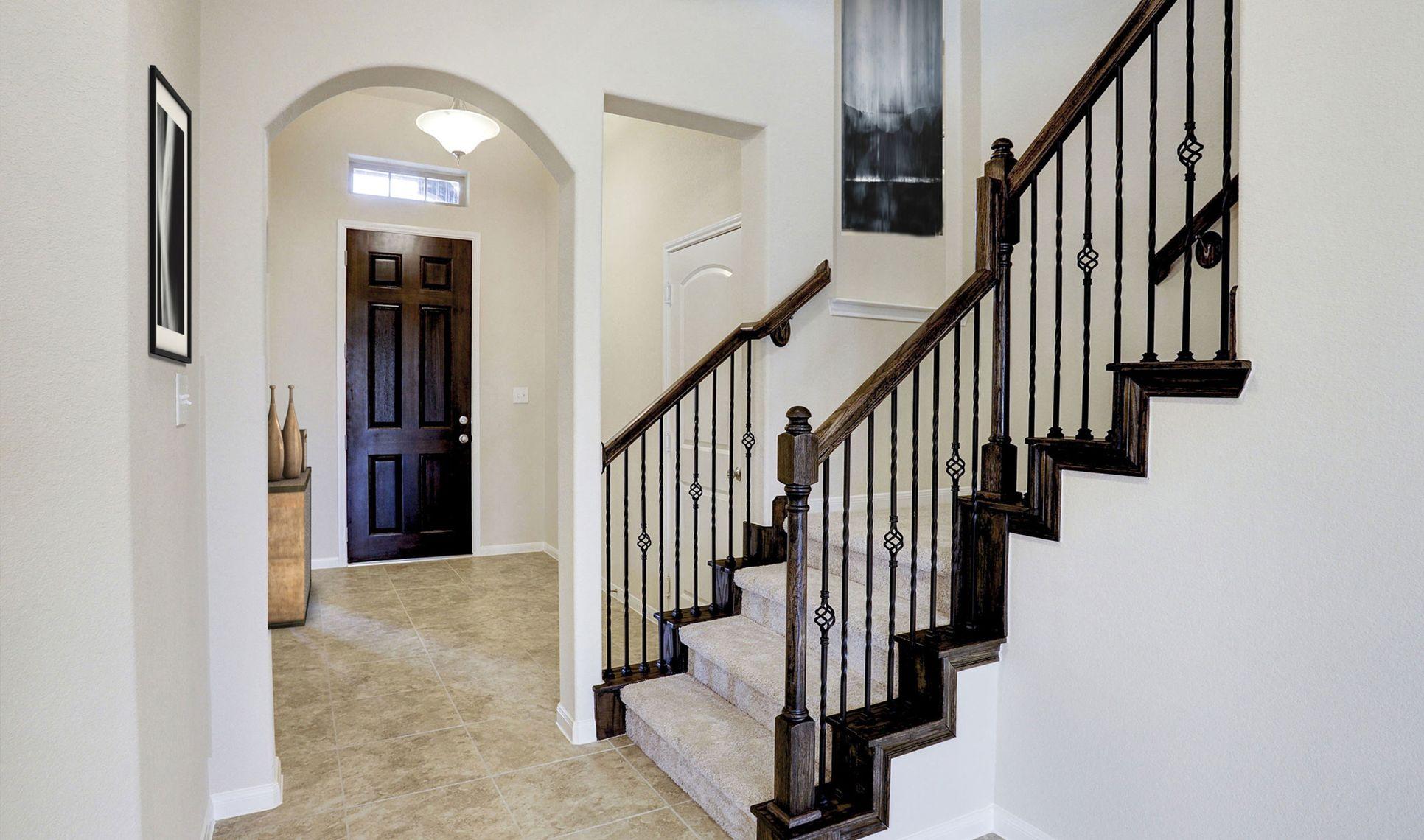 Interior:Impressive foyer