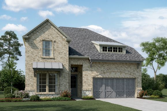 Exterior:Lynbrook - C - Optional stone