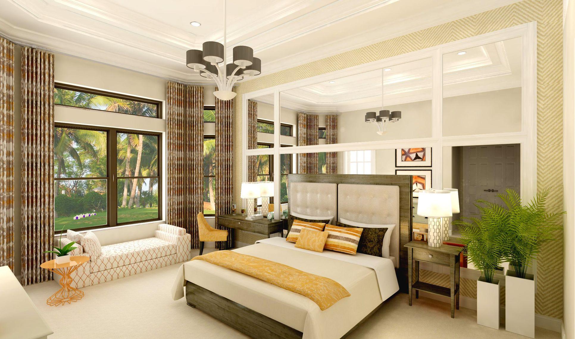 Interior:Gracious owner's suite