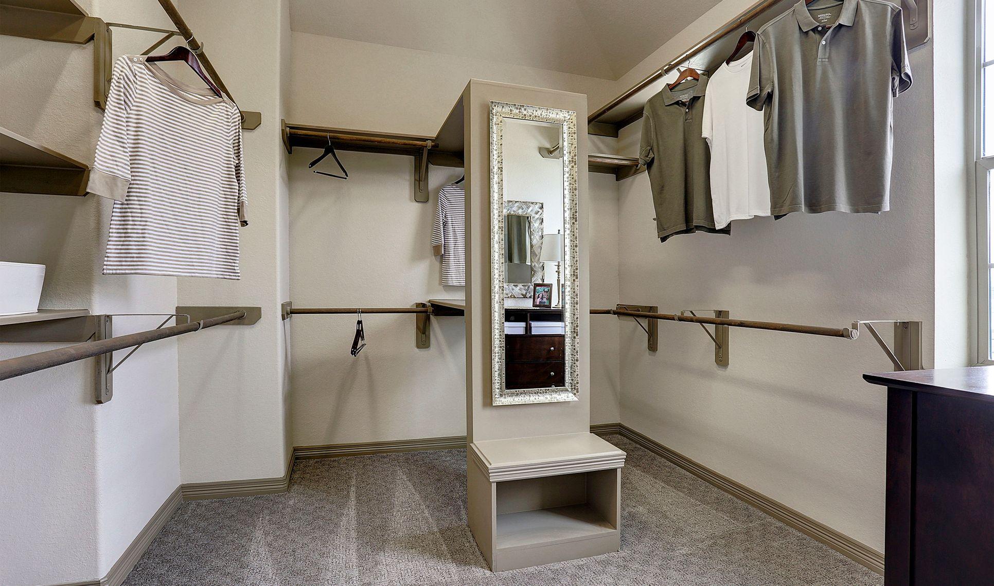 Interior:Huge owner's walk-in closet
