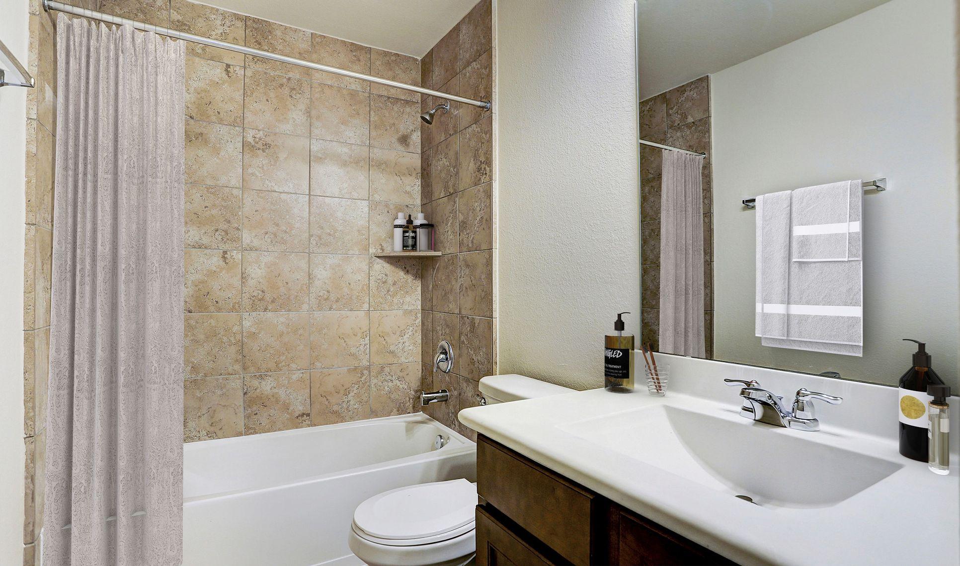 Interior:Hall bath 2