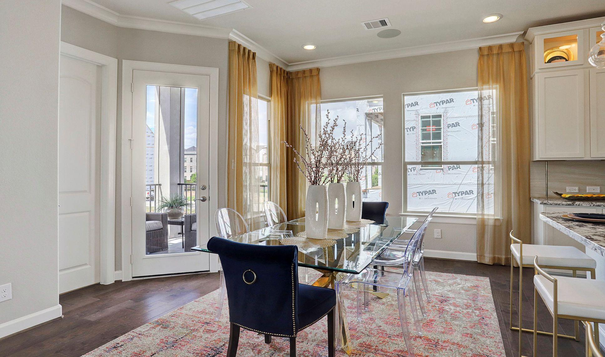 Interior:Inviting dining area