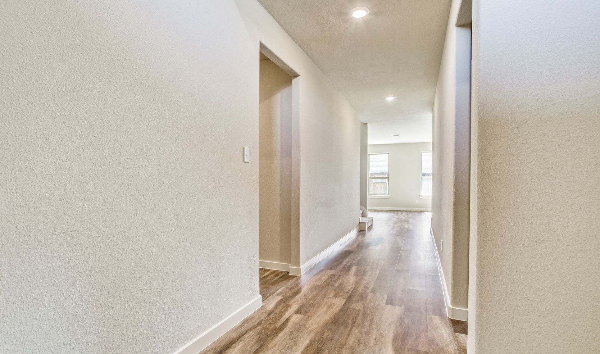 Interior:Bright and welcoming foyer