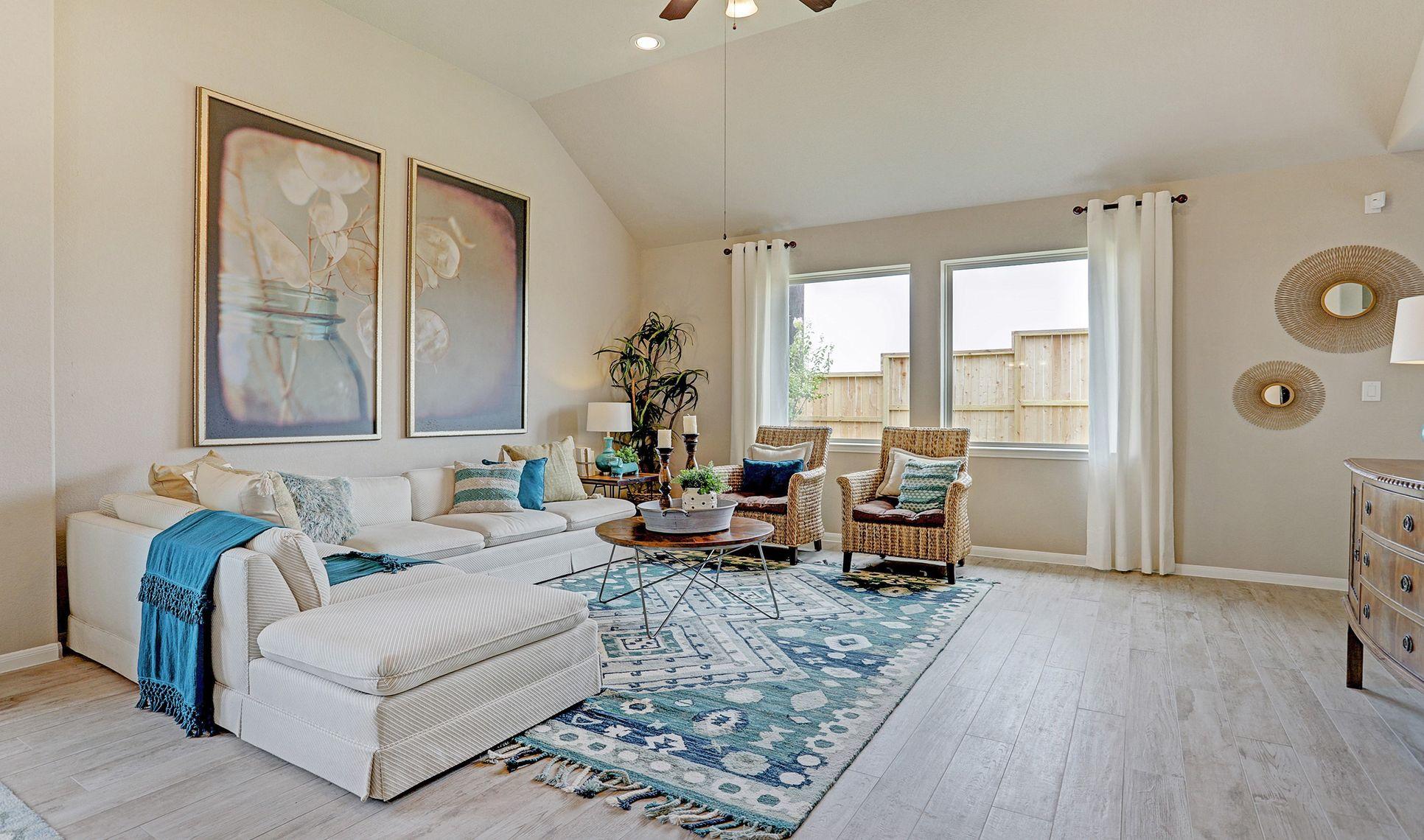 Interior:Cozy great room