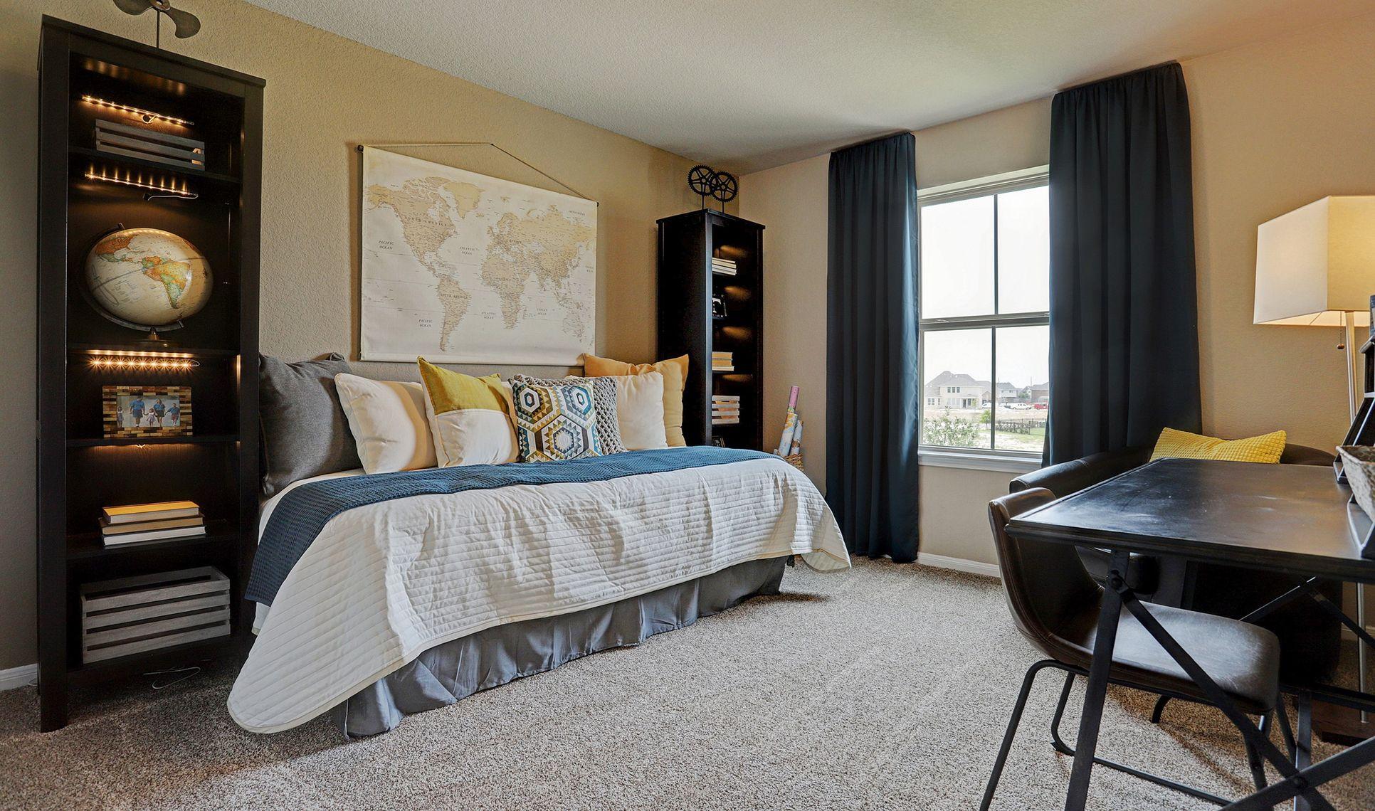 Interior:Bedroom 3