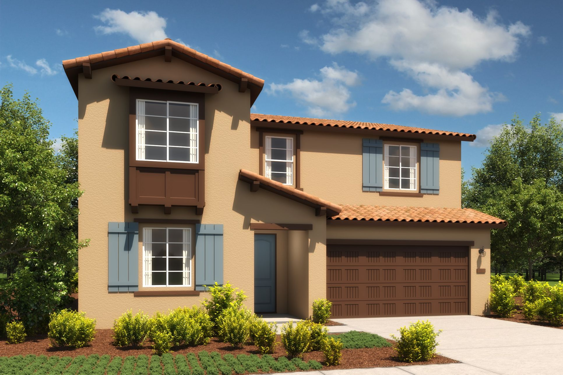 Exterior:Amber Spanish Colonial A