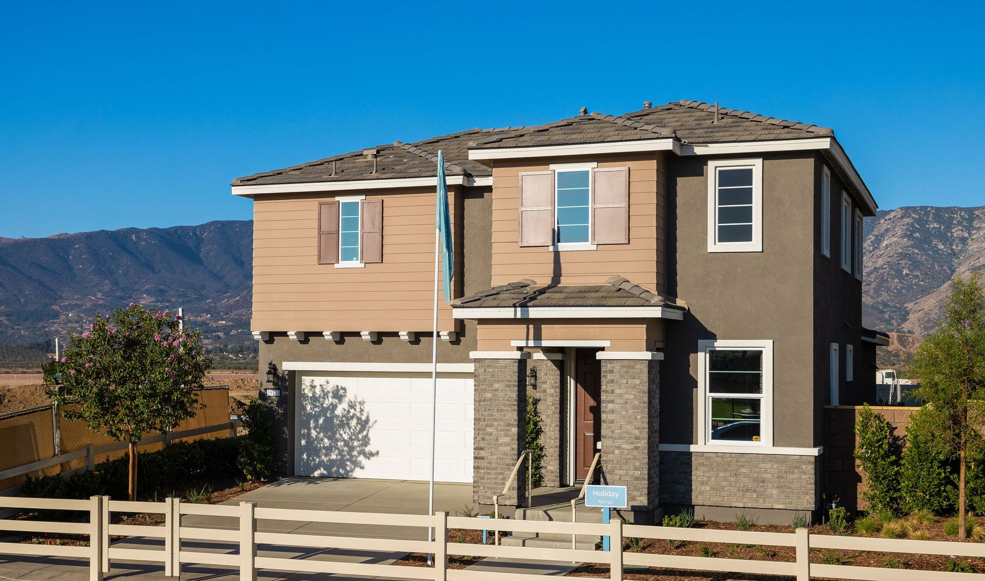 holiday exterior new homes lake elsinore