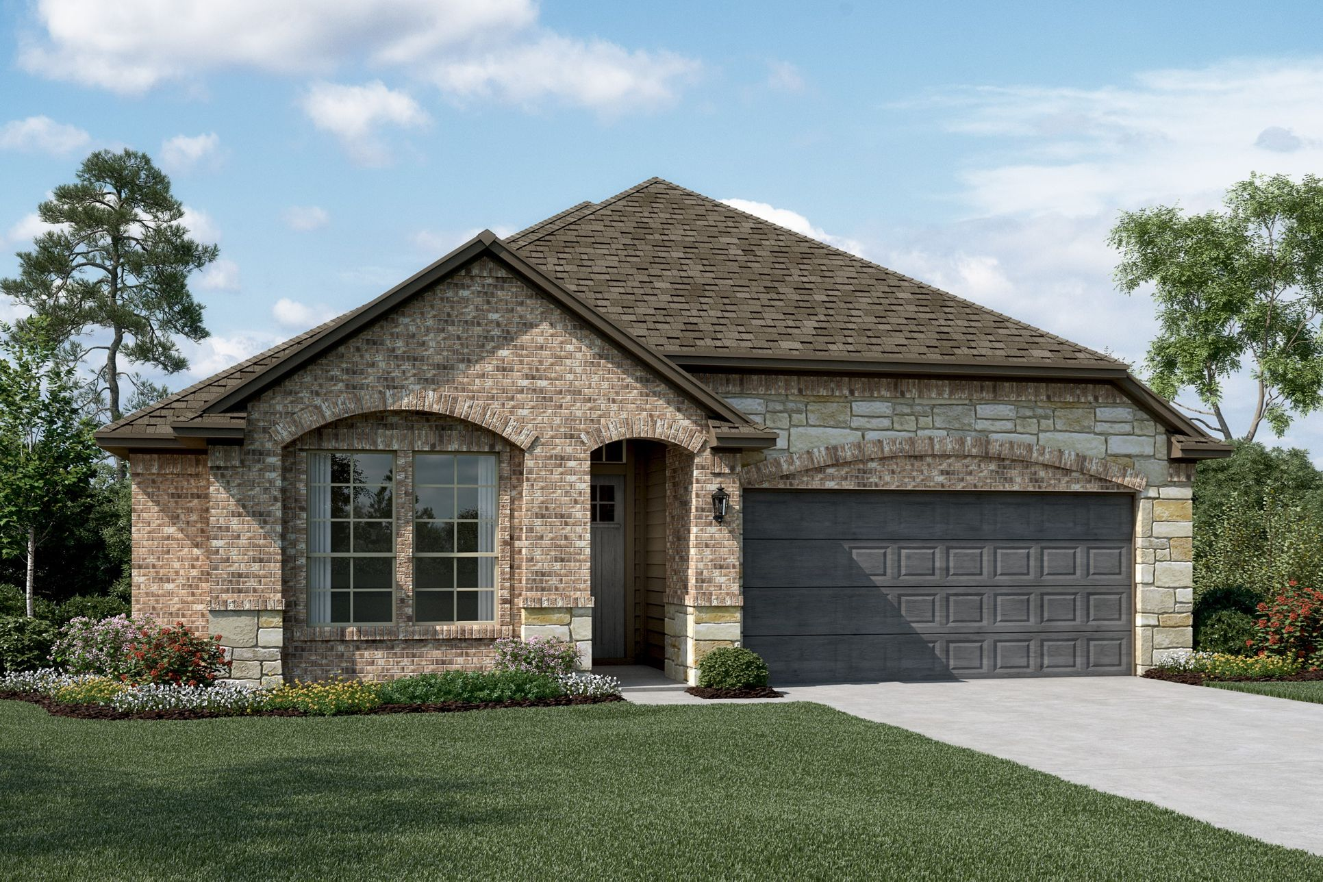 Exterior:Keystone - C - Optional stone