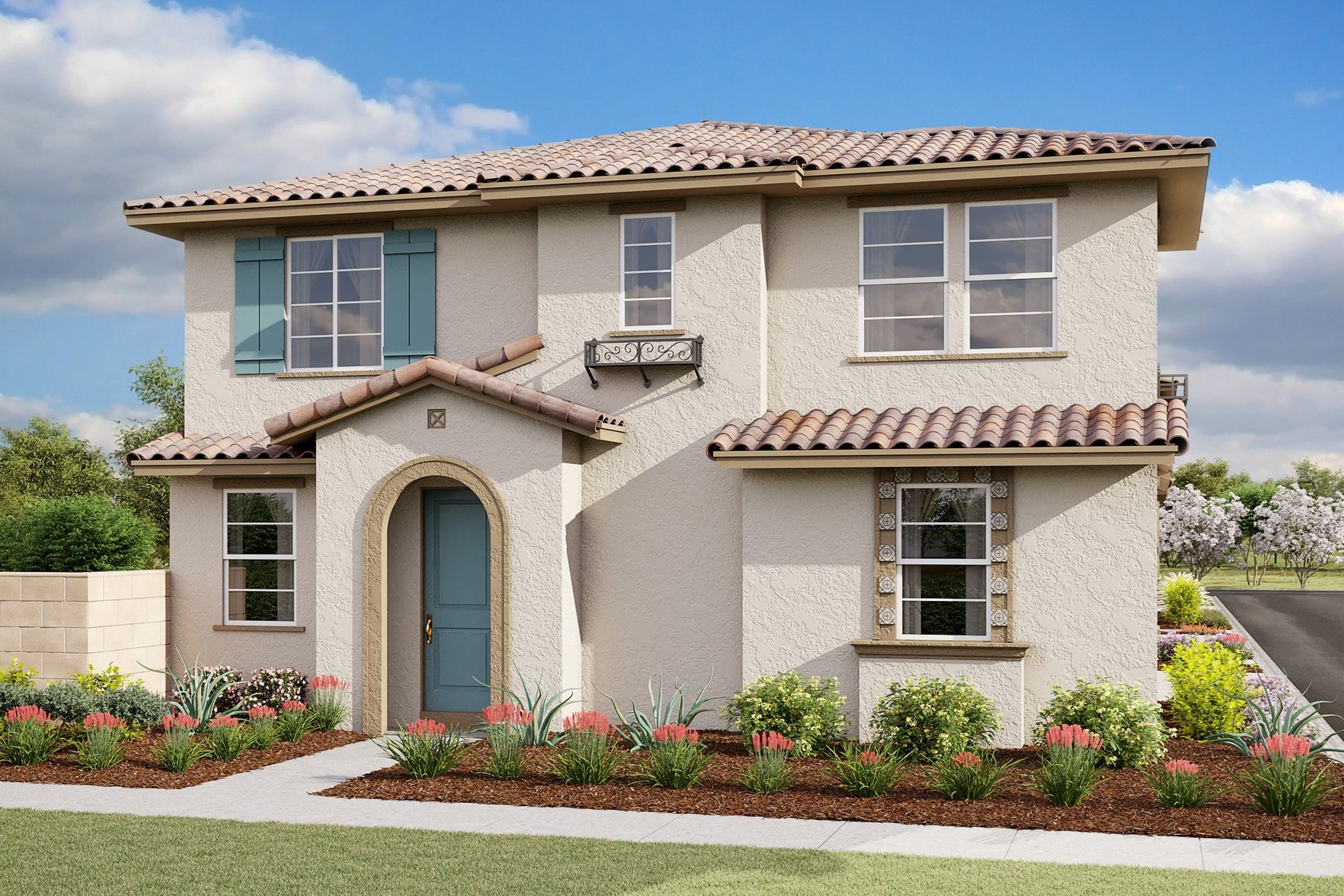 plan 3 sunrise a spanish new homes sage at harvest at limoneira