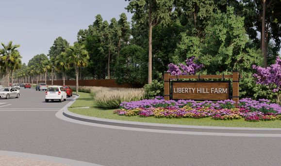 Monument Rendering in Liberty Hill Farm South Carolina 2880 x 1700