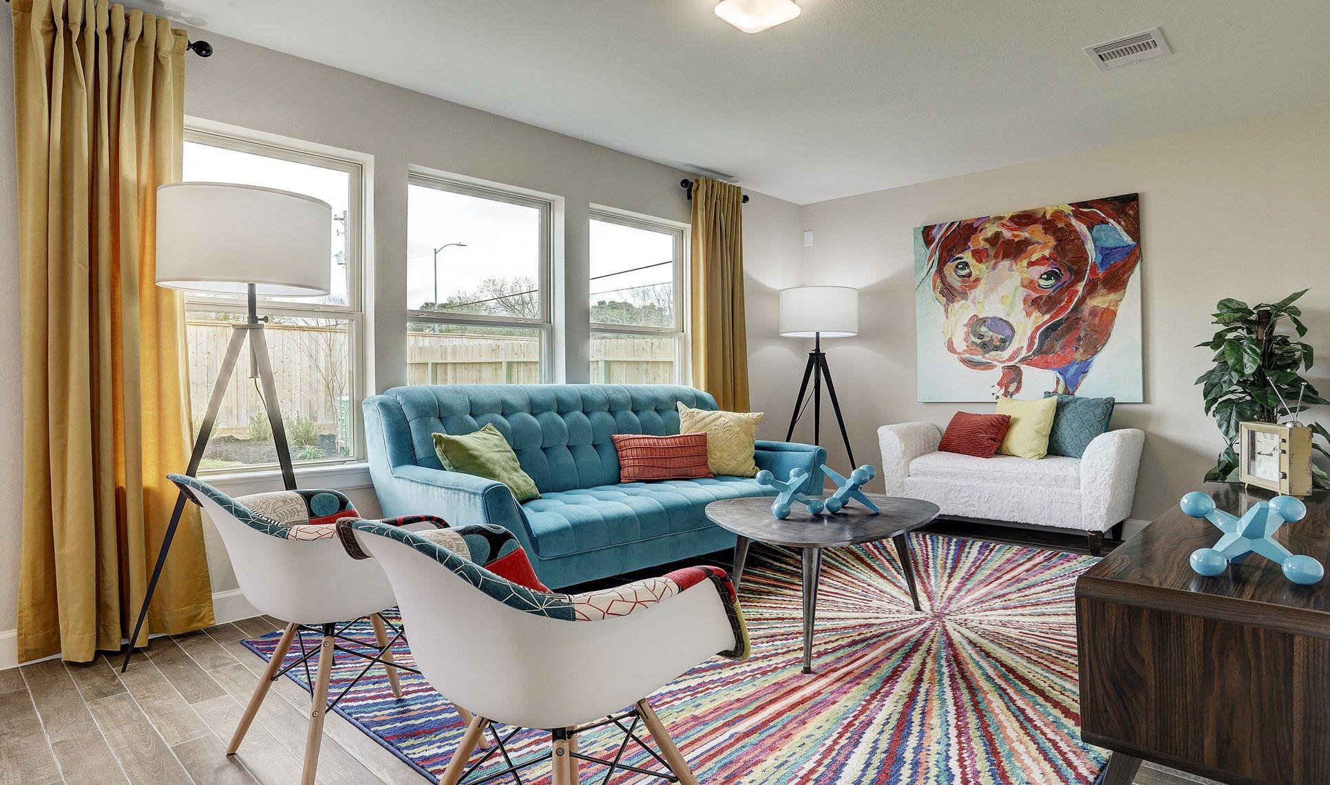 Interior:Cozy activity room