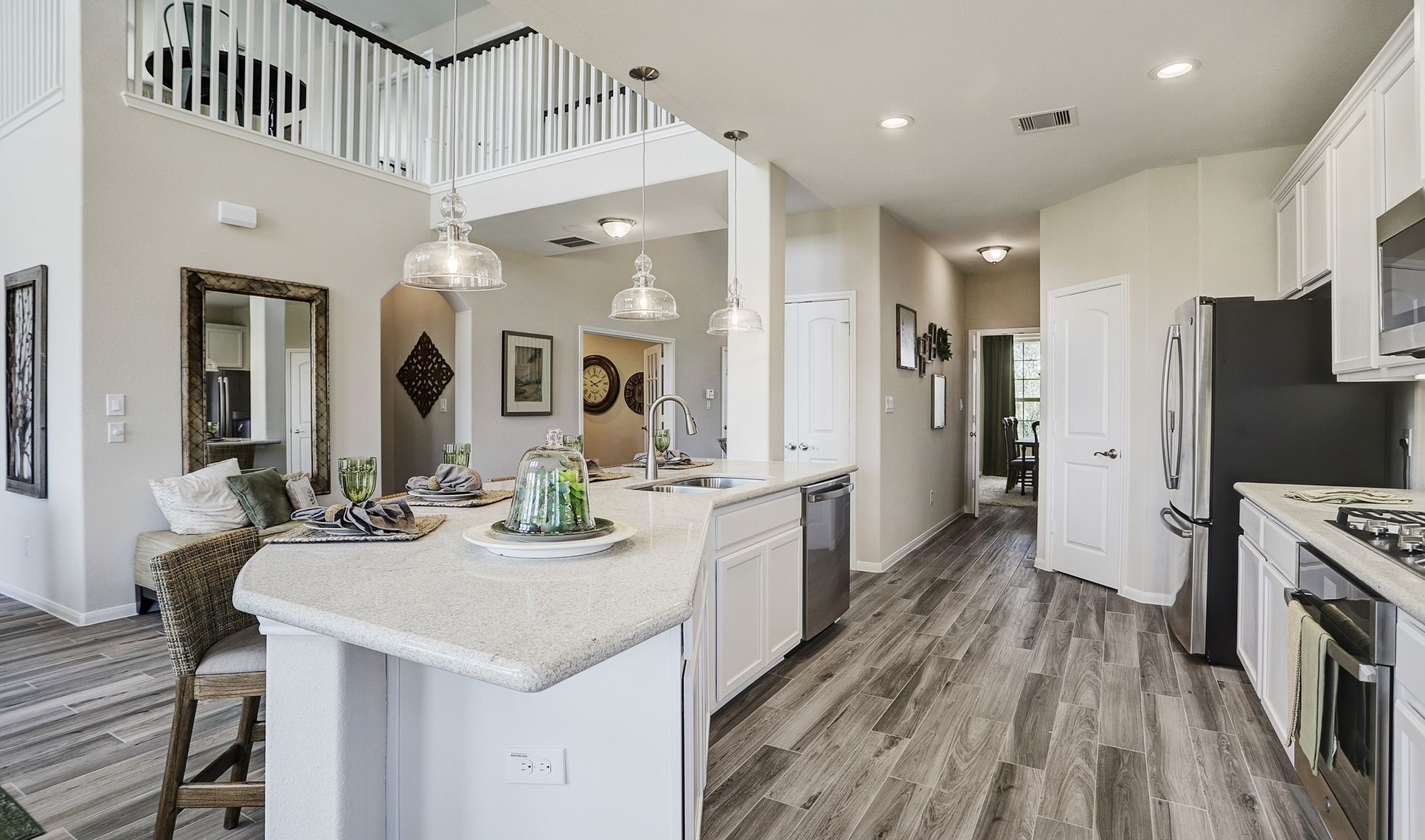 Interior:Kitchen with access to dining room