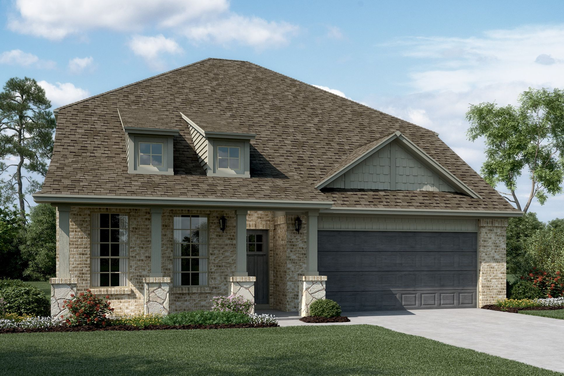 Exterior:Calloway - C - Optional stone