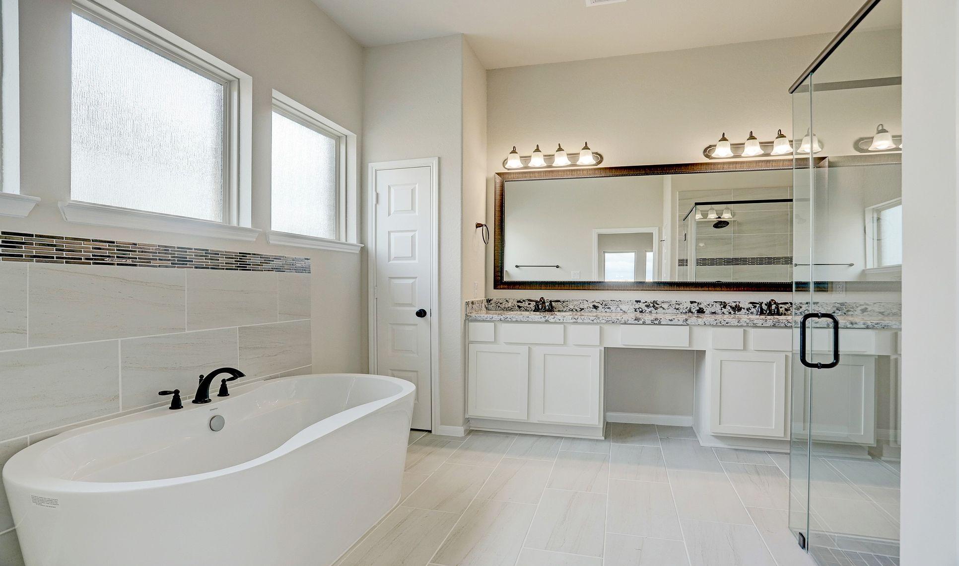 Interior:Owner's luxury bath 3