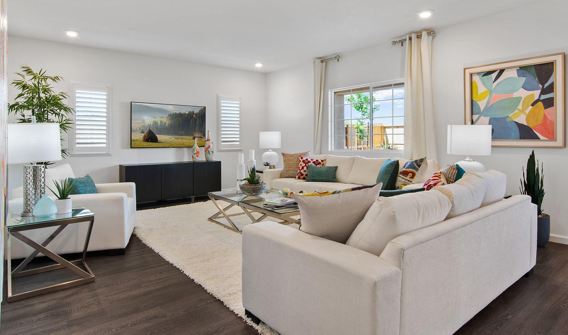 Interior:Open living space