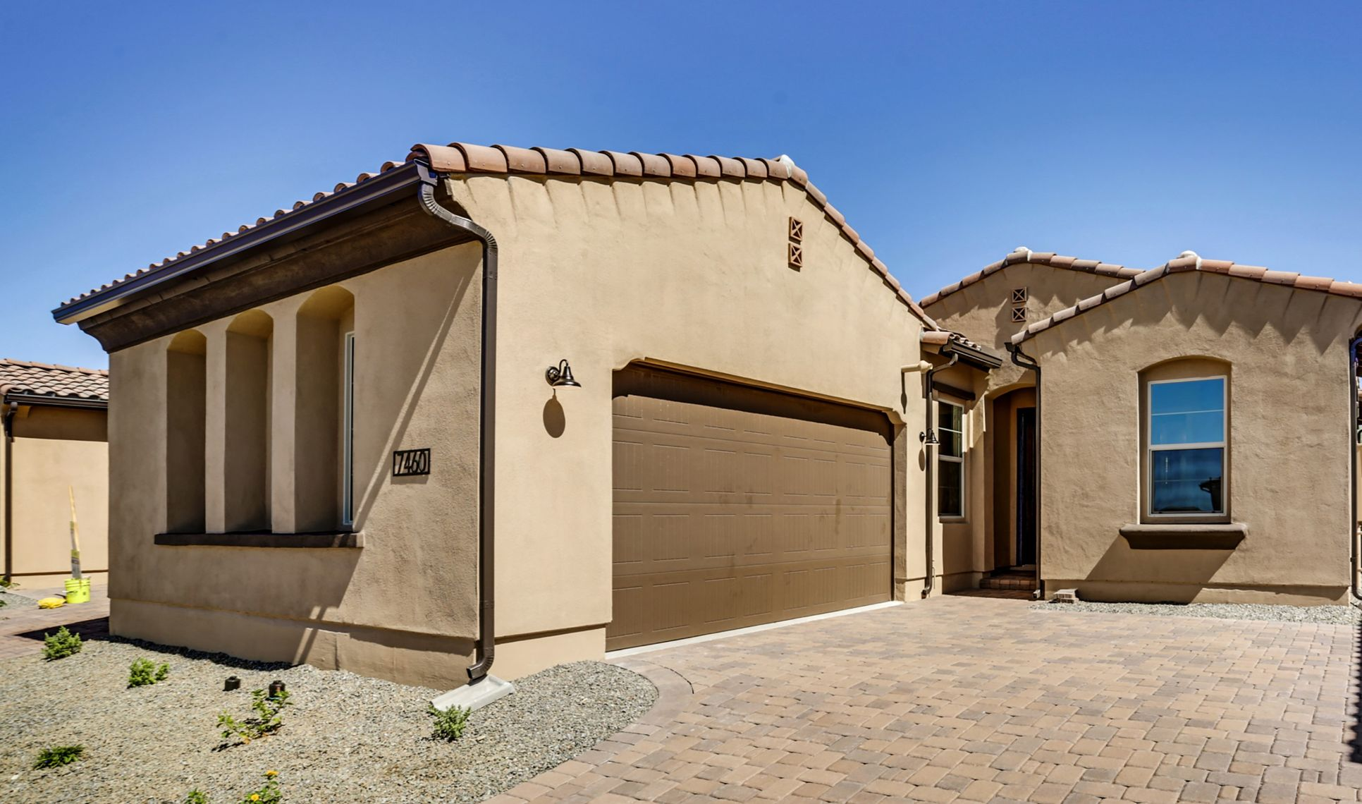 Exterior:Ascent Spanish Colonial with Capstone