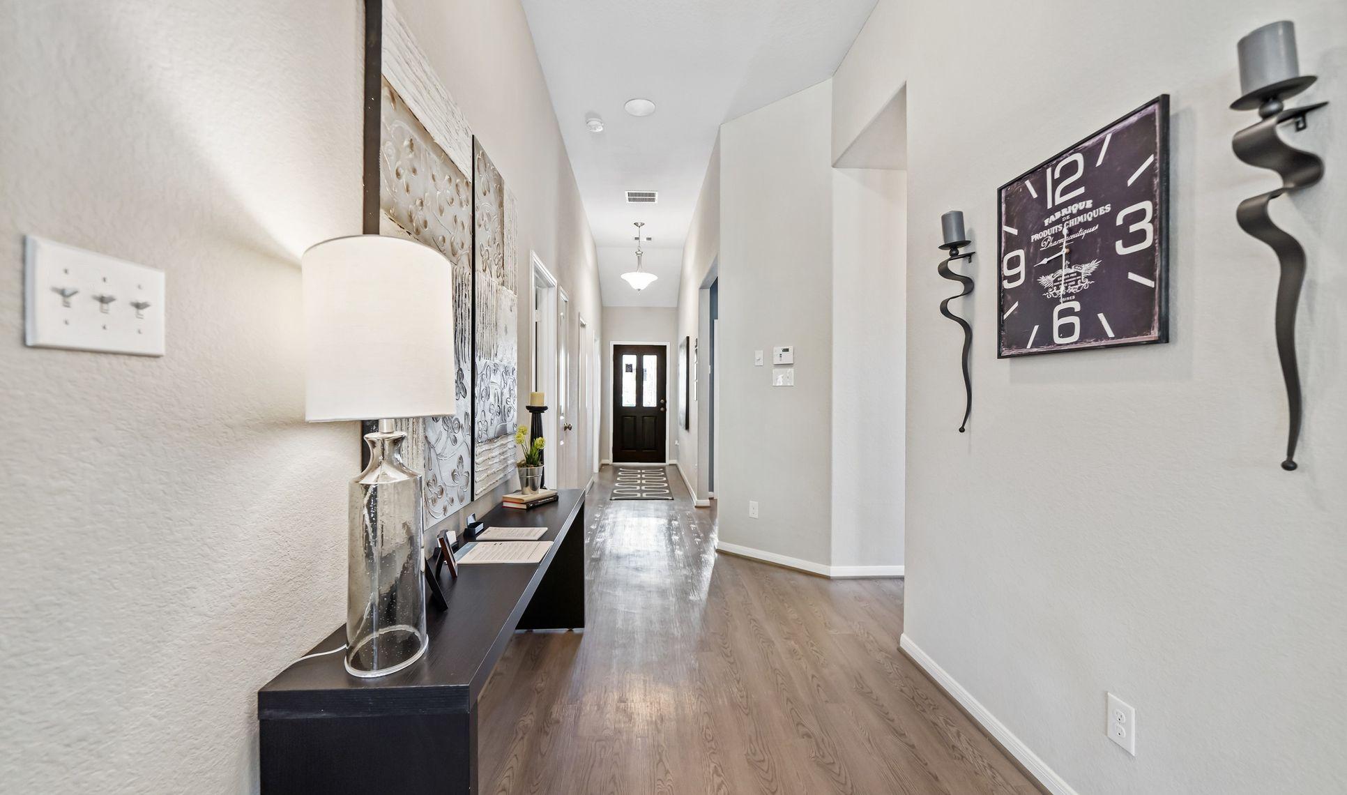 Interior:Inviting foyer