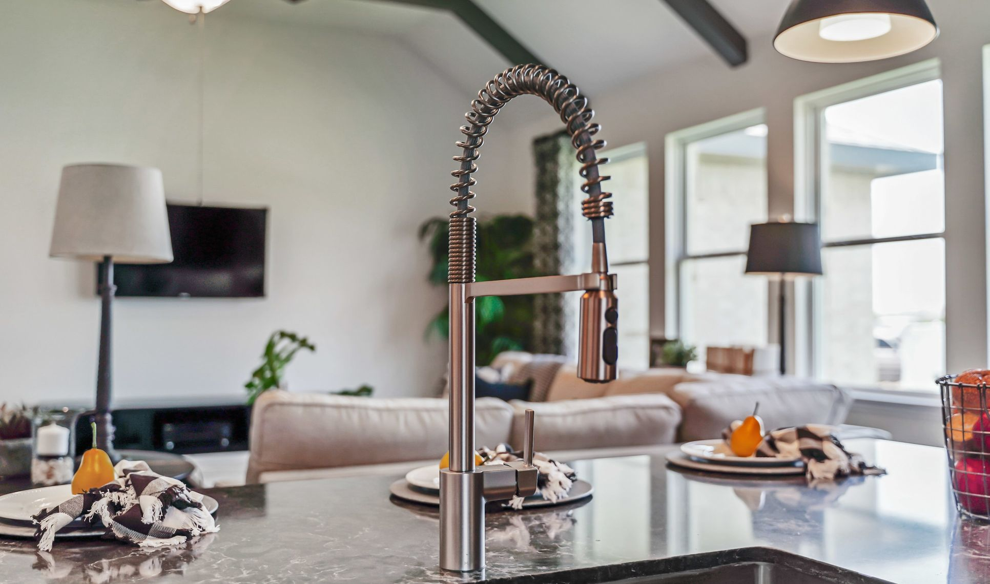 Interior:Kitchen with upgraded faucet