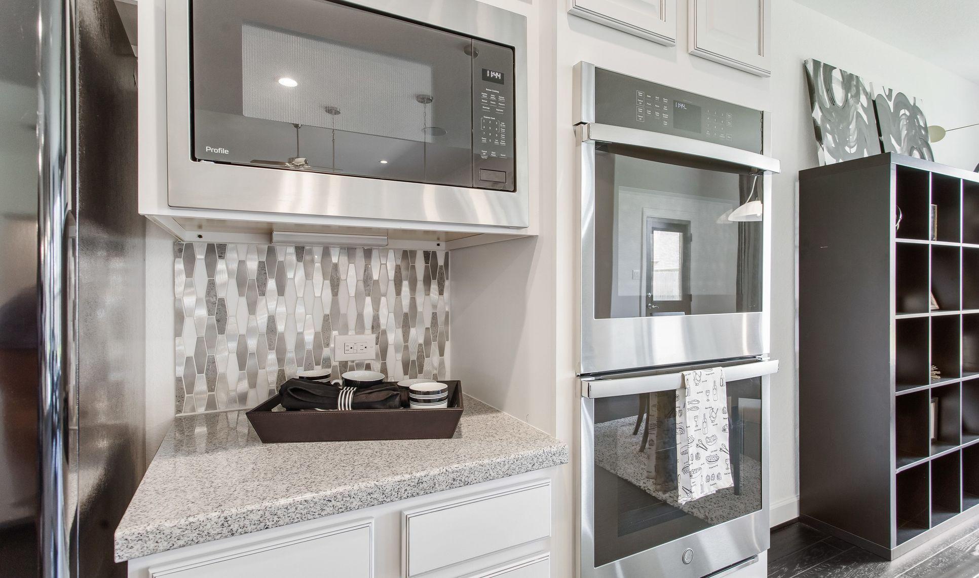 Interior:Stylish kitchen backsplash