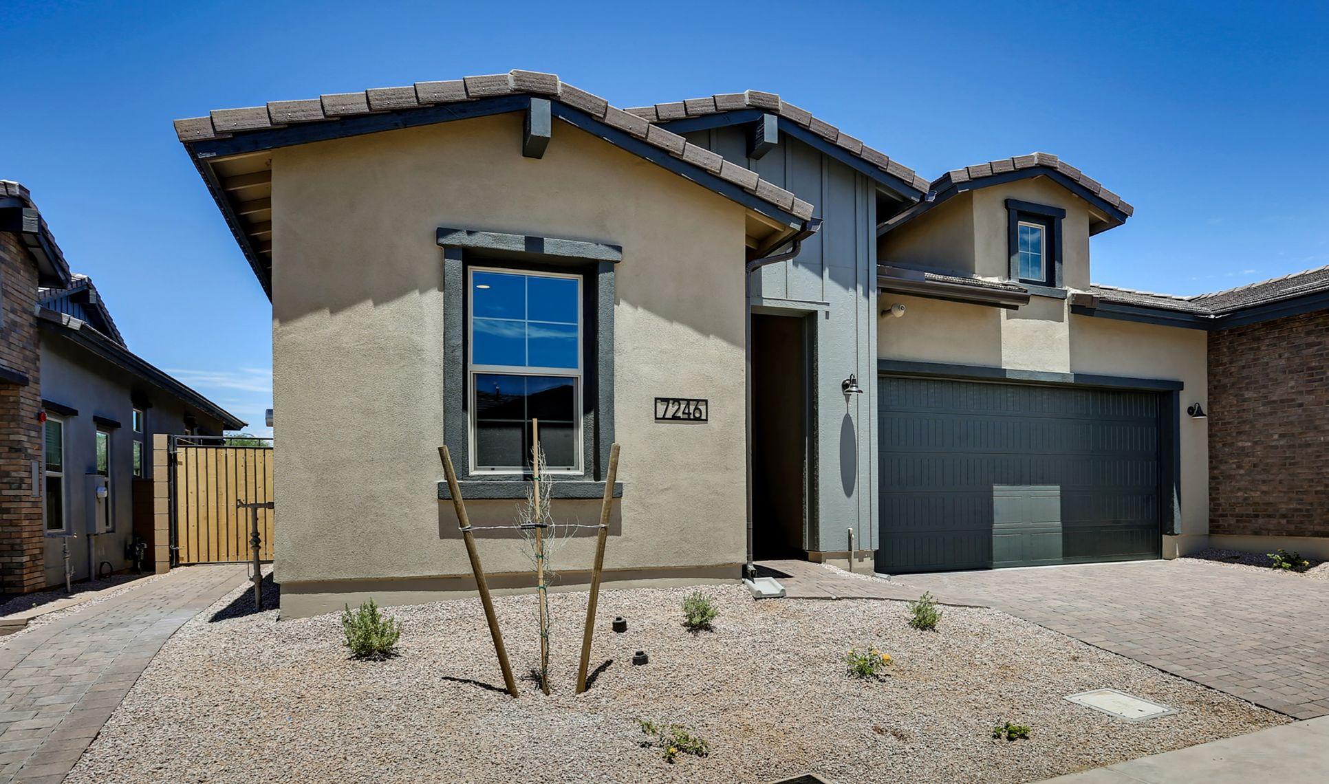 Exterior:Capstone Desert Modern Ranch with Apex