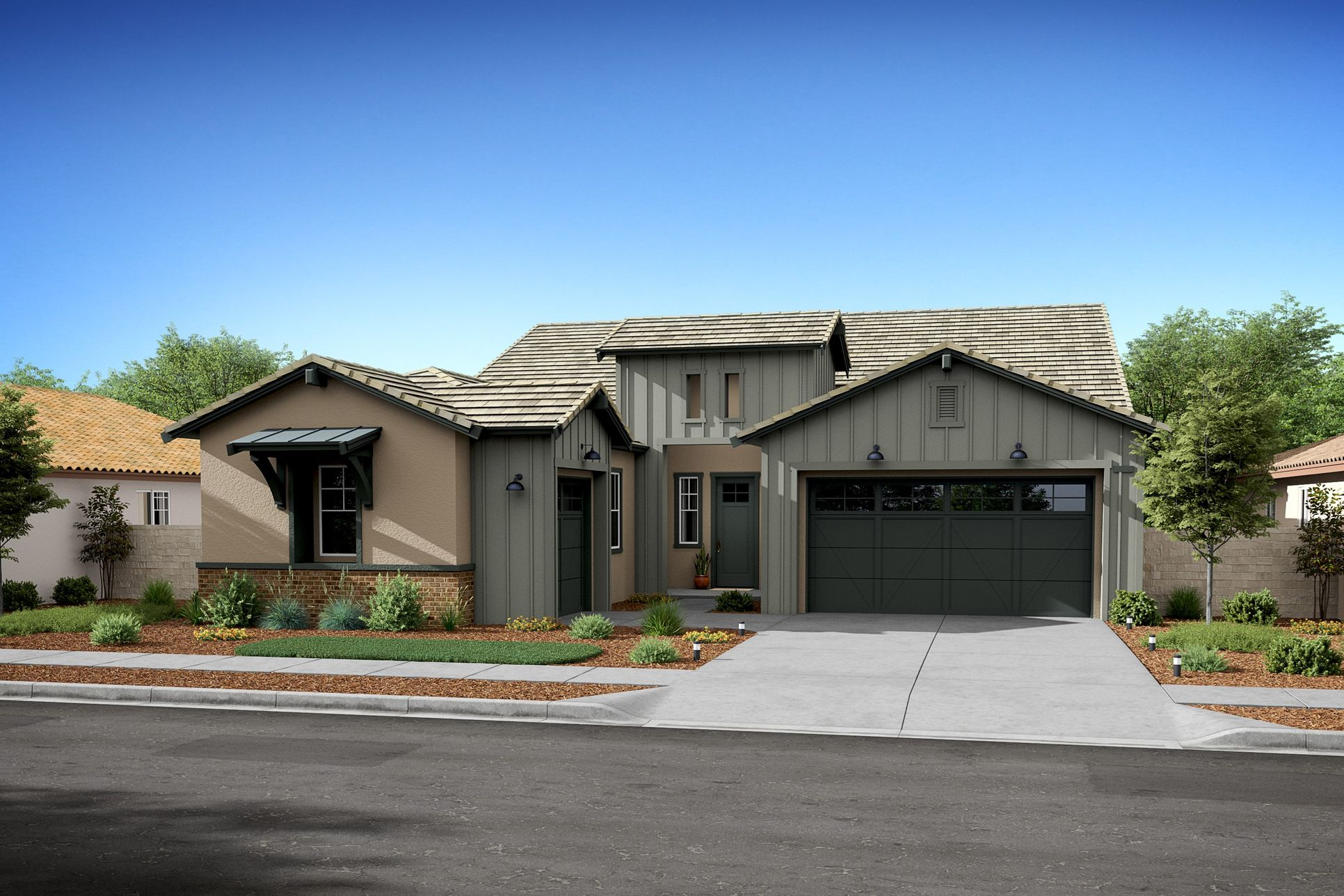 5089 donner b farmhouse new homes hidden lake at serrano
