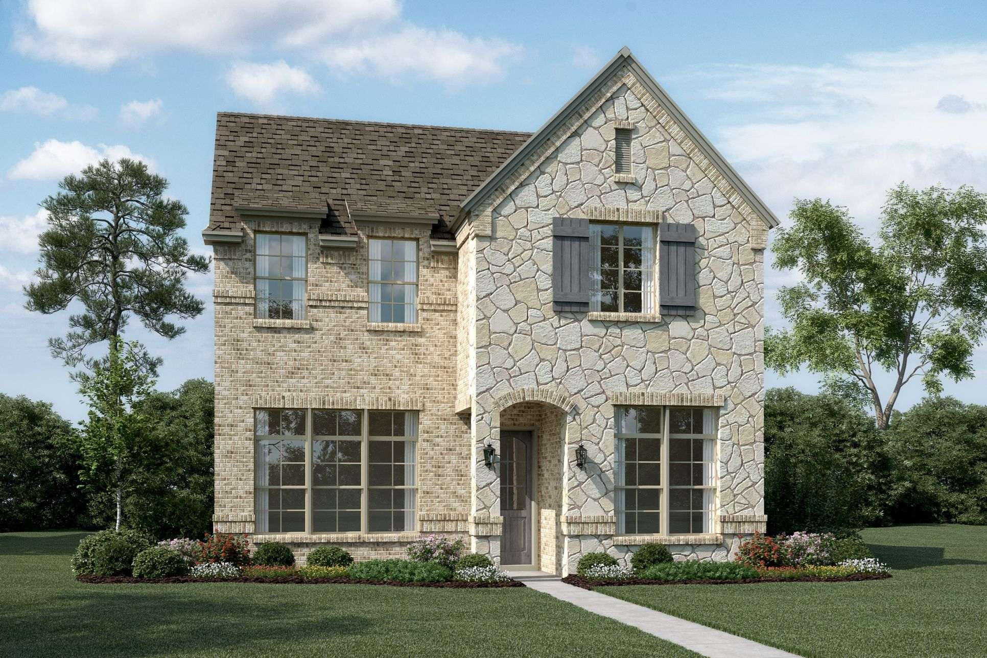 Exterior:Stonebridge - T - With optional stone