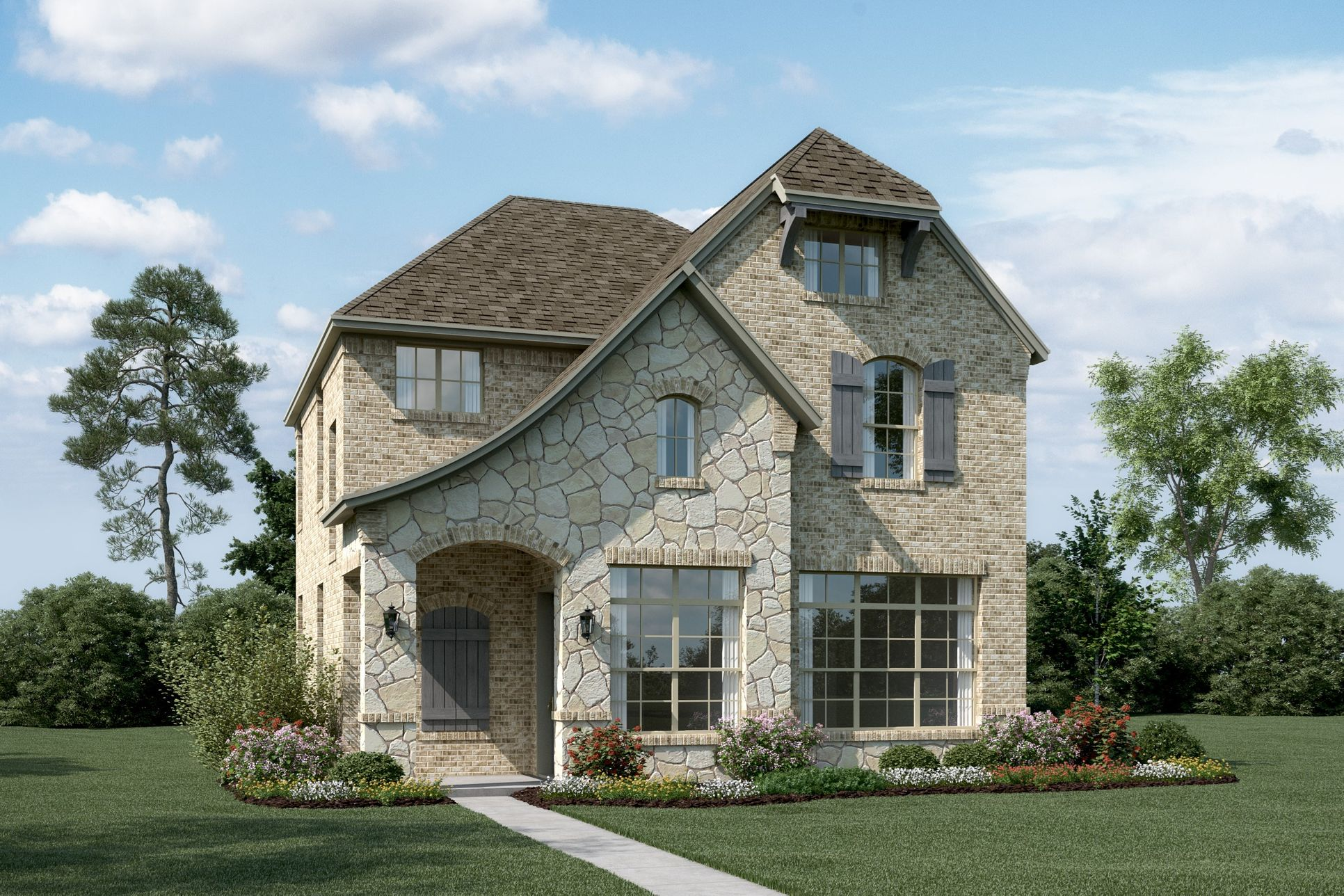 Exterior:Somerset - T - With optional stone