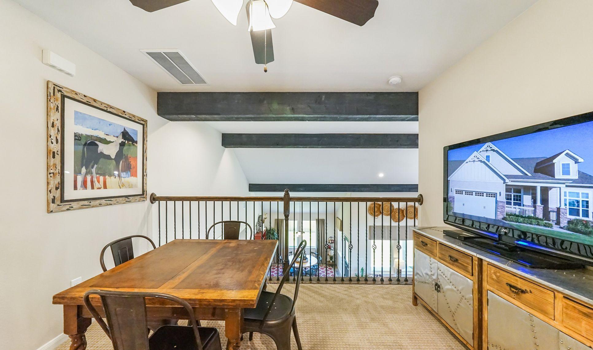 Interior:Bonus loft space