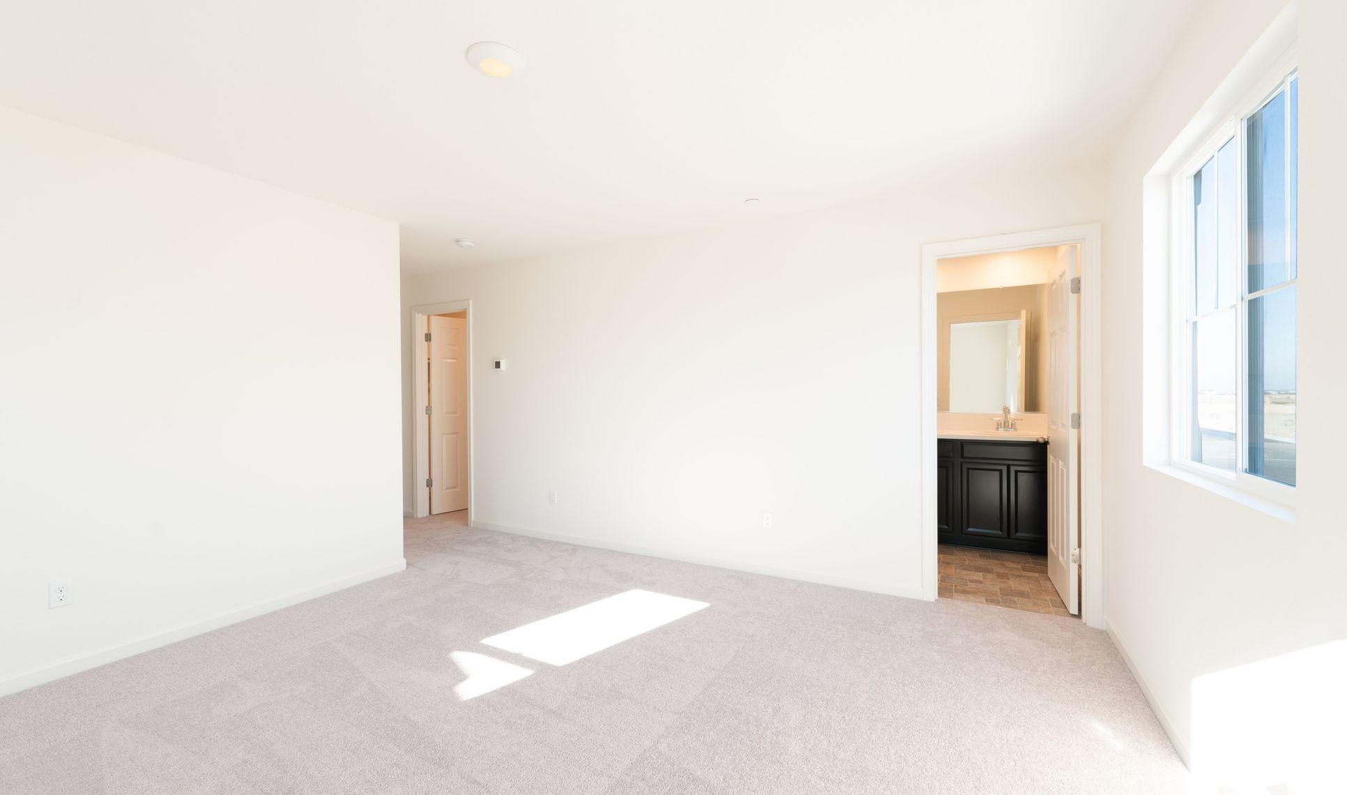 Interior:Retreat-like owner's suite